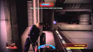 Mass Effect 2 Part 4 Engineer  Insanity optimal guide recruit Archangel (1/2)