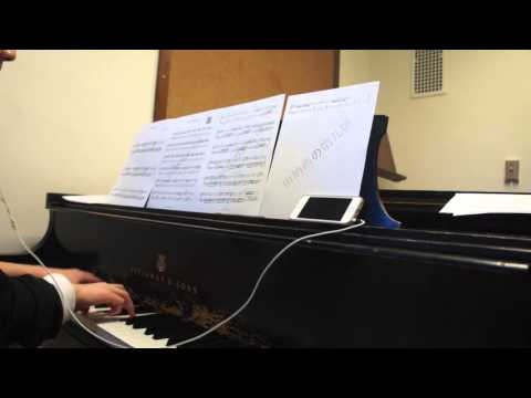 BTS - 花样年华 2 Butterfly piano cover (full version) 20151207