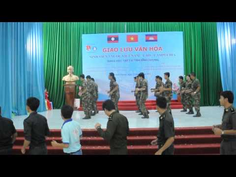 Điệu múa hoàng gia Campuchia - Quay toàn cảnh - HD