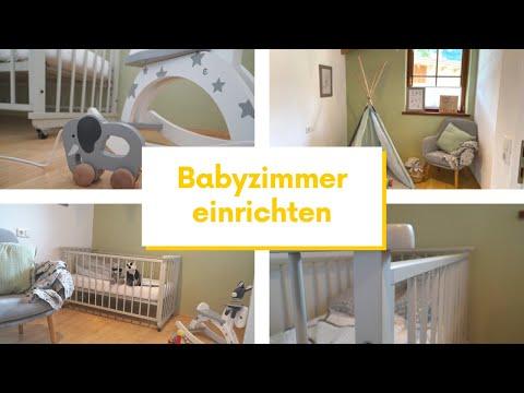 Babyzimmer einrichten & gestalten - Kinderzimmer Ideen & Tipps zur Wandgestaltung & Einrichtung