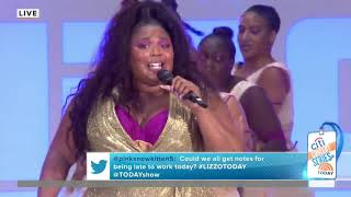 Lizzo performs 'Juice' on TODAY