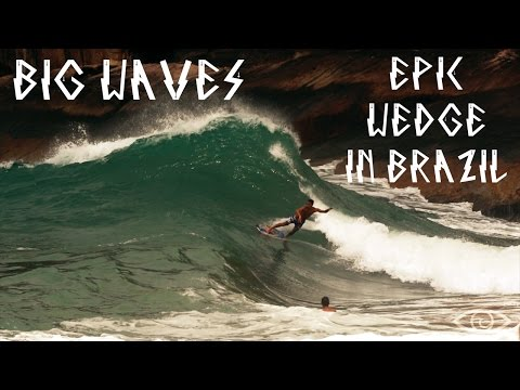 THE MONSTER FROM SUNUNGA - Renato Lima Professional Skimboarding at EPIC WEDGE in Brazil