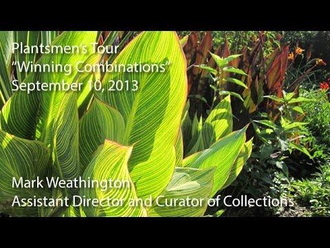 """Winning Combinations"" - Plantsmen's Tour"