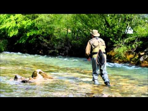 Fly Fishing, Radovna River, Slovenia