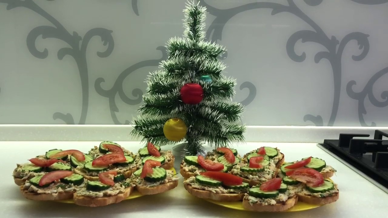 Бутерброды на праздничный стол Простой рецепт Отличная закуска