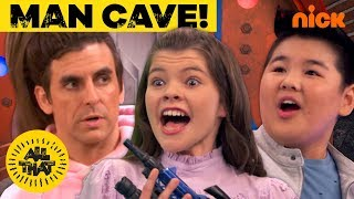 All That Cast in the Man Cave w/ Henry Danger! | All That