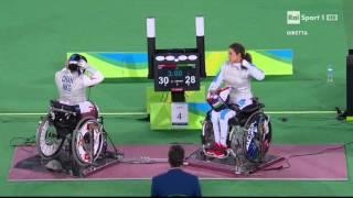 Beatrice Vio medaglia bronzo Rio 2016 fioretto a squadra