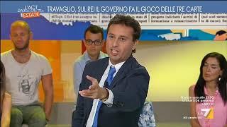 Travaglio vs Romano (PD): 'Reddito di Inclusione, ancora il gioco delle tre carte con fondi ...