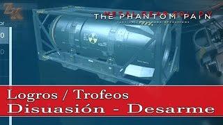 Metal Gear Solid V: The Phantom Pain - Logros / Trofeos Disuasión y Desarme
