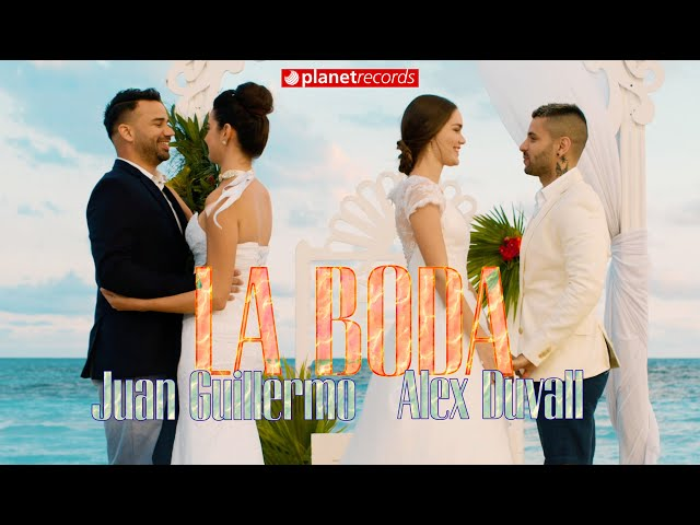JUAN GUILLERMO ❌ ALEX DUVALL - La Boda (Official Video by Felo) Reggaeton Cubaton Romantico