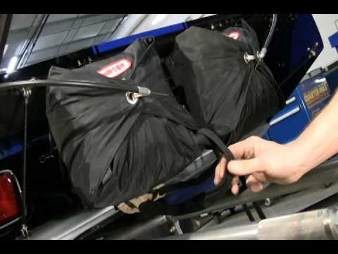 How To Pack A Drag Parachute By Quarter Max Youtube