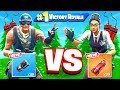 ROCK paper SCISSORS *NEW* EXPLOSIVE Game Mode in Fortnite Battle Royale!