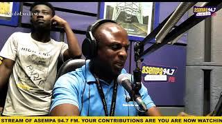 WATCH AbroKyire Nkomo (((LIVE))) On ASEMPA FM (22-02-20) with Kwaku Amankwatia