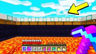 this STRANGE Minecraft Base was hiding a HUGE secret.. (RAIDED)