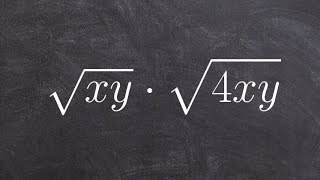 Multiplying two radical expreṡsions together then simplifying your answer