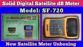 Solid SF-720 Satellite Meter Unboxing And Review How to use Satellite Meter Official Video