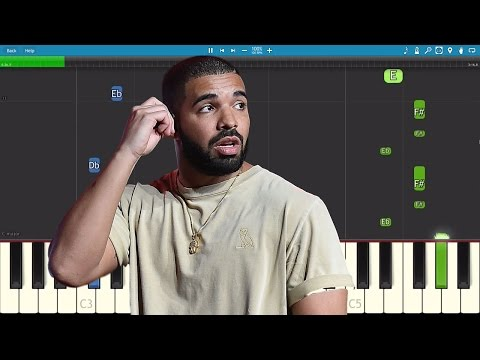 Drake - Passionfruit - Piano Tutorial