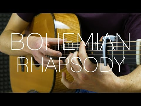 Queen - Bohemian Rhapsody - Fingerstyle Guitar Cover