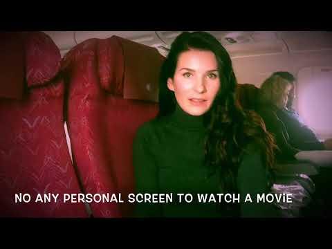 My flight with Qatar airways economy class