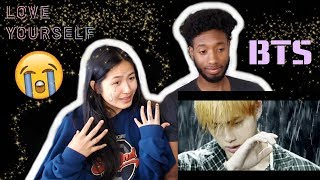 BLASIAN COUPLE REACTS TO BTS (방탄소년단) LOVE YOURSELF 結 ANSWER 'EPIPHANY' COMEBACK TRAILER | REACTION