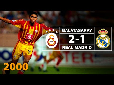 1999-2000 Super Cup Final Galatasaray - Real Madrid