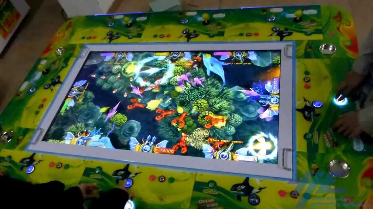 ocean king fish arcade game gameplay 2 youtube
