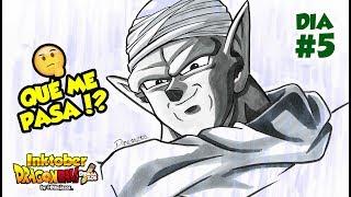 QUE ME ESTA PASANDO?!   DIBUJANDO A PICCORO   INKTOBER DRAGON BALL #5