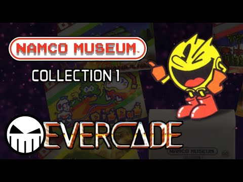 Namco Museum Collection 1 - All Games on the Evercade