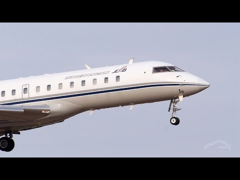 "あっという間に離陸!""Very short takeoff"" JCAB BD-700 Global Express"