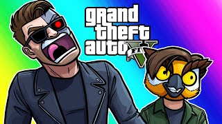 GTA5 Hunting Pack Funny Moments - My Mission is to Protect You! thumbnail