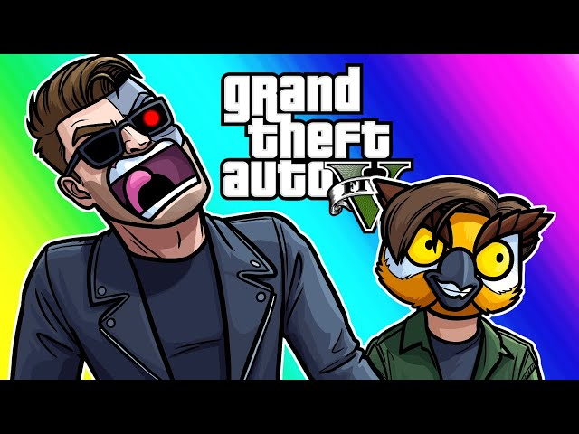 GTA5 Hunting Pack Funny Moments - My Mission is to Protect You!