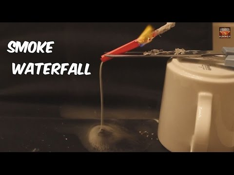 Smoke Waterfall - Science Experiment