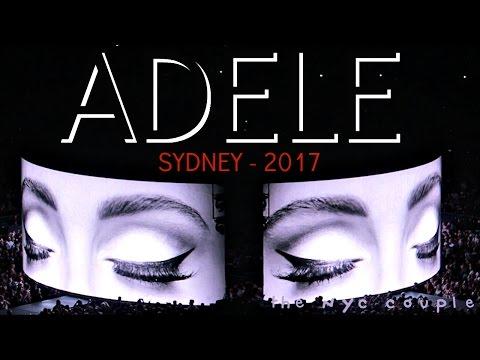 ADELE - HELLO SYDNEY 2017 // AUSTRALIA TOUR