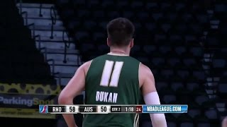 highlights duje dukan 9 points vs the spurs 3 18 2016