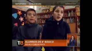 Escuela General Carlos Prats - Reportaje Tele13