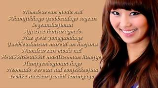 Hyorin - Feeling So Lonely To Dance Alone lyrics