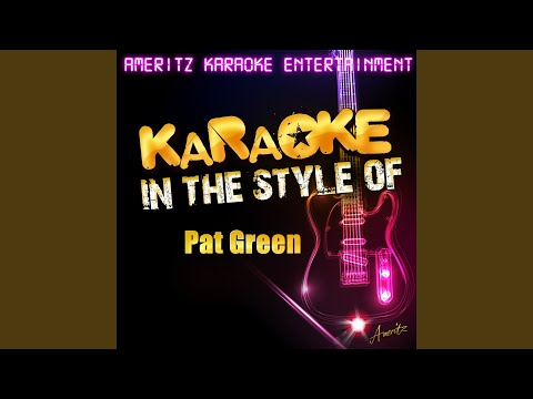 Wave On Wave (In the Style of Pat Green) (Karaoke Version)