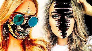 TOP 15 DIY Weird Halloween Makeup Tutorials & SFX Ideas 2018