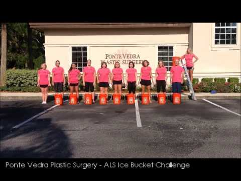 Ponte Vedra Plastic Surgery ALS ICE BUCKET CHALLENGE VIDEO