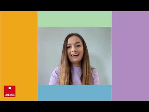 Aleyna nous parle de son expérience chez Synergie