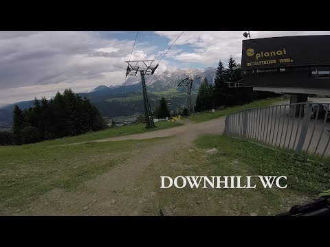 Downhill Training in Planai, Schladming