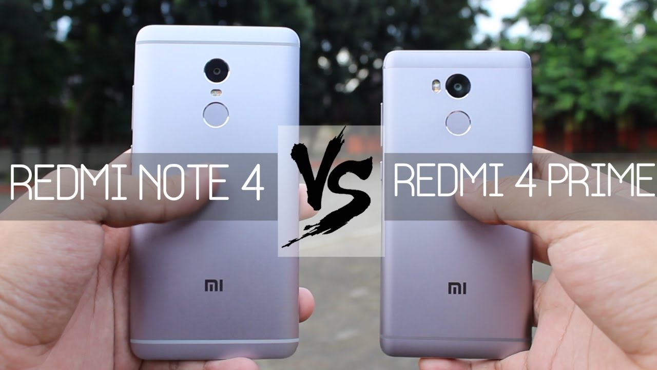 Xiaomi Redmi Note 4 Vs Redmi Note 3: Xiaomi Redmi Note 4 Vs Xiaomi Redmi 4 Prime Indonesia