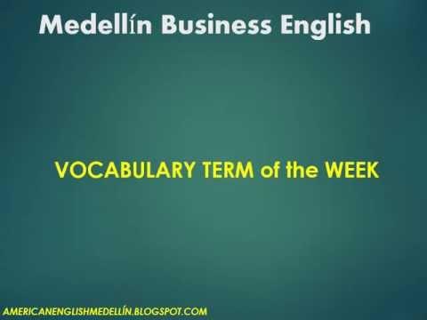 Medellin Business English Vocabulary - intrinsic value