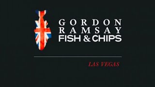 LAS VEGAS GORDON RAMSAY FISH AND CHIPS RESTAURANT IN VEGAS | NOV. 2020