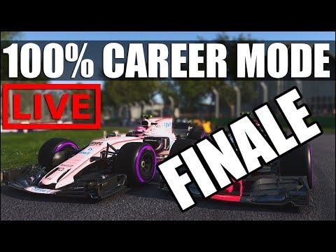 F1 2017 - 100% Distance Career Mode | Round 20: Abu Dhabi **FINALE **