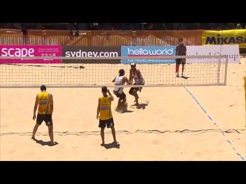 2017 FIVB World Tour, Manly Beach - Mens Semi-Finals, Australia Vs France