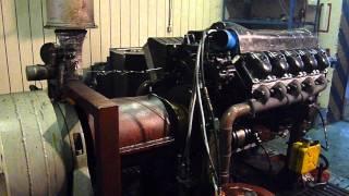 Motor tatra na motorové brzdě