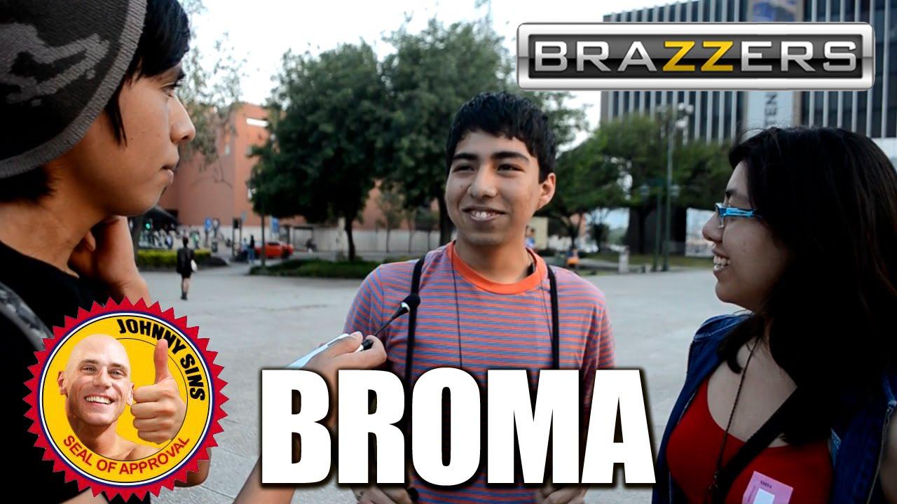 BRAZZERS | BROMA | ENCUESTA TROLL | OcurrenciaTV - YouTube