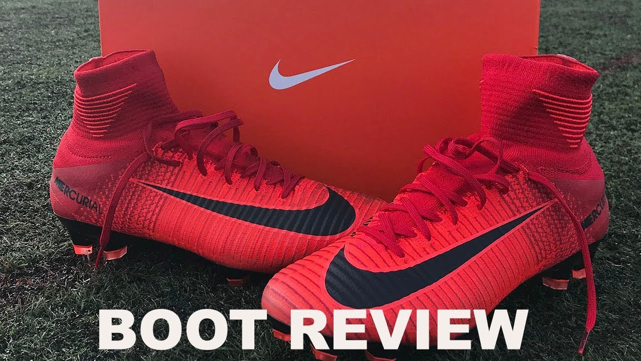 new concept b0d73 d11f2 NIKE MERCURIAL SUPERFLY V FG BOOT REVIEW