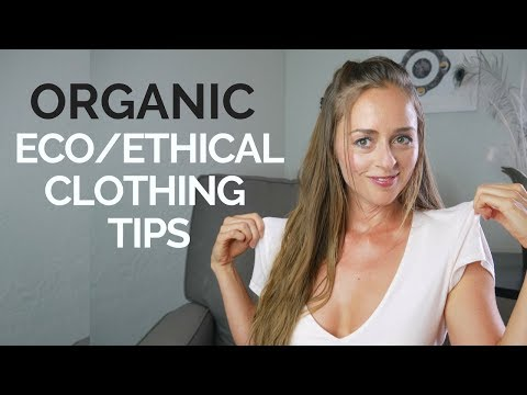 Organic, Eco-Clothing Health Upgrade & Earth Sustainability! Bridget Nielsen